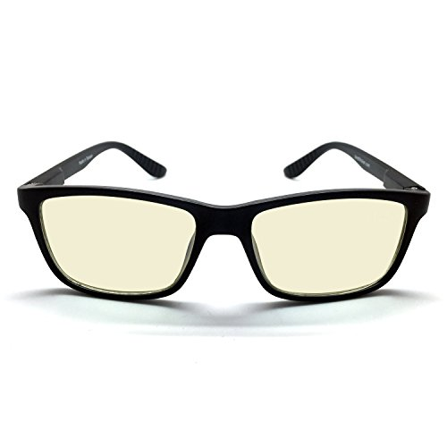 J-S-Vision-Blue-Light-Shield-Computer-Glasses-Low-color-distortion-anti-blue-light-lens-classic-matte-black-frame-Essential-Gaming-Gear-0-1