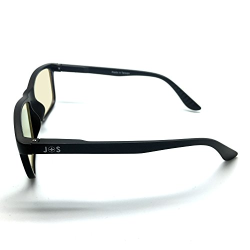 J-S-Vision-Blue-Light-Shield-Computer-Glasses-Low-color-distortion-anti-blue-light-lens-classic-matte-black-frame-Essential-Gaming-Gear-0-5