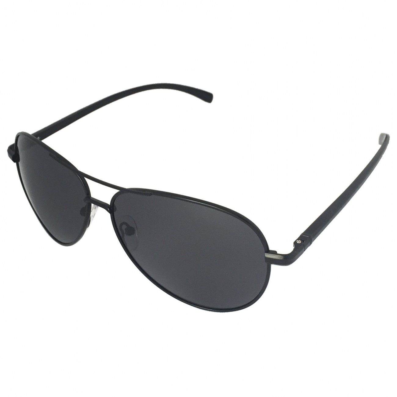 polarized aviator sunglasses ihht  J+S Vision Ultra Sleek Military Style Polarized Aviator Sunglasses