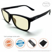 Computer glasses – Reading – 3 – Comes with, 30 day satisafaction, warranty, case, cloths