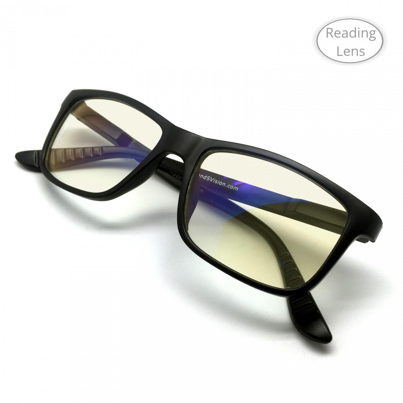 J+S Vision Blue Light Shield Computer/iPad Reading Glasses