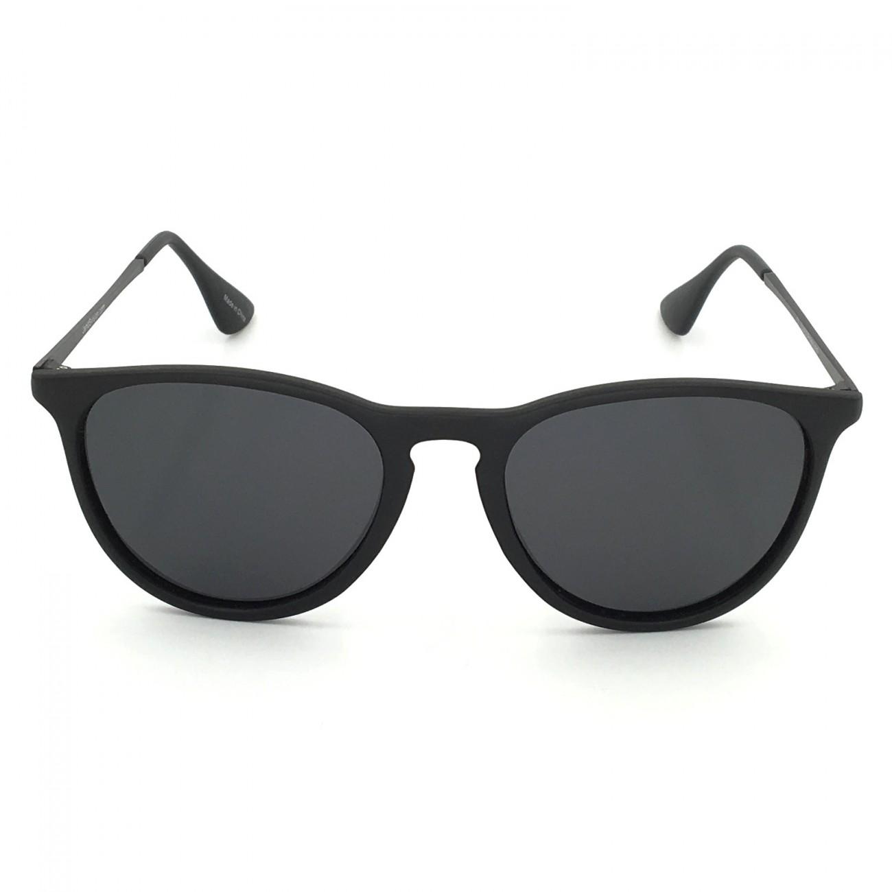 J+S Piha Chic Round Cat Eyes Sunglasses, Polarized Lens ...