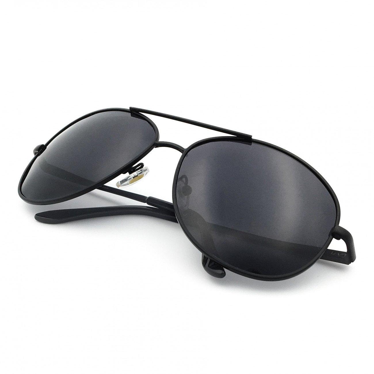 f797459fc J+S Premium Military Style Classic Aviator Sunglasses, Polarized ...