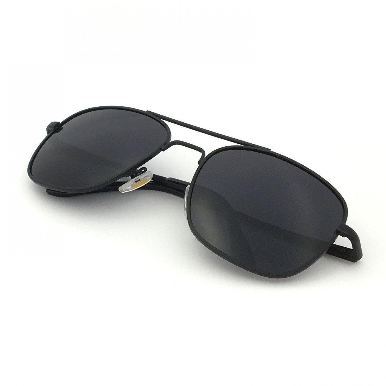 5ba6449d12a J+S Premium Military Style Classic Square Aviator Sunglasses ...